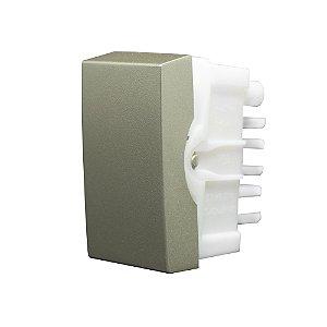 Interruptor, SIMPLES 10A-250V INOVA PRÓ CLASS CHAMPAGNE REF: 85400