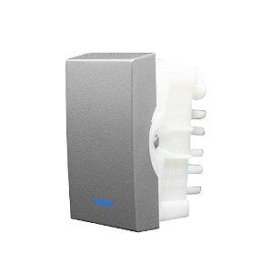 InterruptorSIMPLES LUZ 10A 250V INOVA PRO CLASS TITANIUM REF: 85553