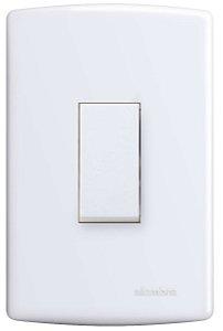Interruptor PARAL 10A 250V VERT PL 4x2 BR SIE REF: 6516