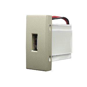 MÓDULO TOMADA USB BIVOLT INOVA PRO CLASS CHAMPA REF: 85419