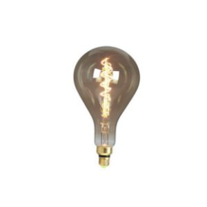 LAMP GOLD GLASS FILAM A165S SMOKY 4W 2200K