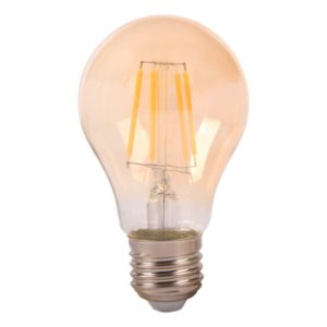 LAMP GOLD GLASS FILAM A60  4W 2200K  E27 BIV