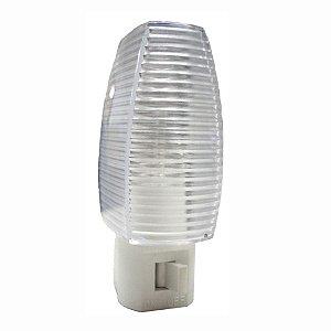 LUZ NOTURNA AUTOMATICA CRISTAL 127V LAMPADA INCANDESCENTE REF: 6186