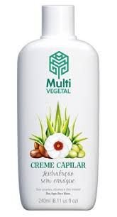 Creme Capilar Hidratação sem Enxague -  Multi Vegetal 240ml