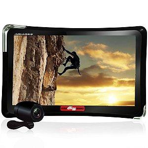 """GPS Automotivo Quatro Rodas 4.3"""" MTC4760 com Câmera de Ré e TV Digital"""