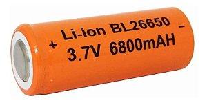 Bateria Recarregável 26650 4,2v Para Lanterna X900 T9