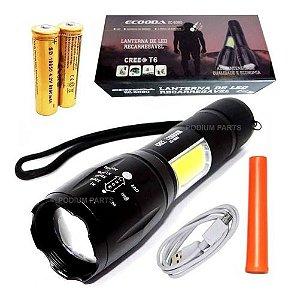 Lanterna Tática Led Police Profissional Cree Xml T6 Forte