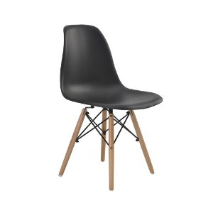 Cadeira Eames Eiffel Preto