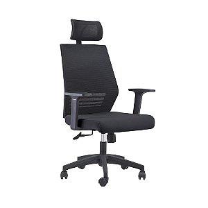Cadeira Office Braga Com Encosto