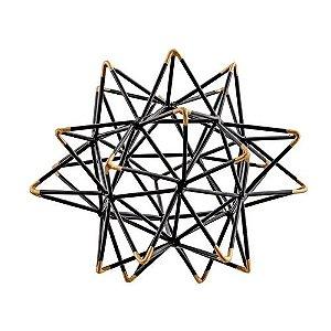 13012 - Escultura Em Metal
