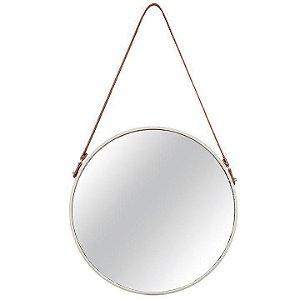 Espelho Off White Em Metal
