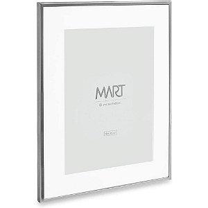 Porta Retrato Prata Em Metal 10 X 15 11259