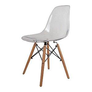Cadeira Eames Eiffel Transparente