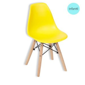 Cadeira Eiffel Kids Amarelo