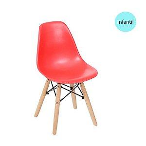 Cadeira Eiffel Kids Vermelho