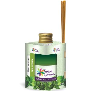 Difusor De Ambientes Tropical Aromas 250ml Erva Cidreira