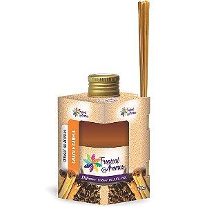 Difusor De Ambientes Tropical Aromas 250ml Cravo e Canela
