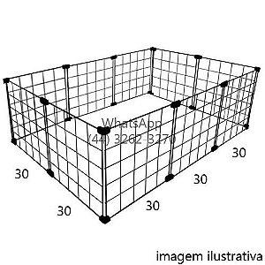 Cercado de Tela Aramado 0,30 x 0,60 x 0,90