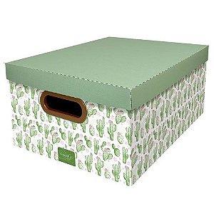 Caixa Organizadora Cacto Dello 38x29x18,5 cm