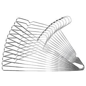 Kit 12 Cabides de Metal Simples