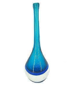 Vaso Decorativa Gota Grande Cristal Perola São Marcos