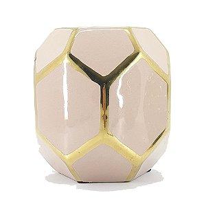 Vaso Ornamento Decorativo De Cerâmica Decorglass