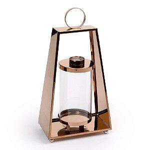 Lanterna Ornamento De Ferro Decorativo Decorglass