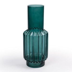 Vaso Vidro Decor Glass Verde