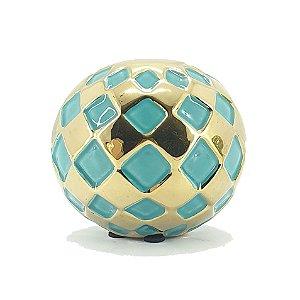 Bola De Cerâmica Decorativa Decorglass