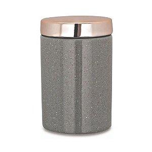 09074 - Pote Cinza em Cerâmica