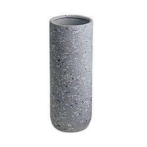 10534 - Vaso Cinza em Cerâmica