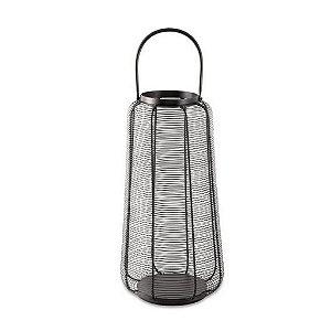 12063 - Lanterna Preta em Metal