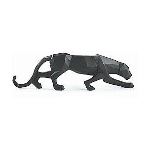 12426 - Escultura Leopardo em Poliresina
