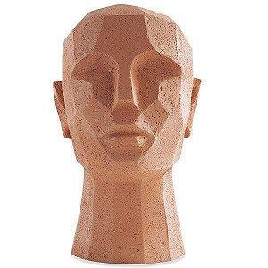 12778 - Escultura Cabeça em Poliresina