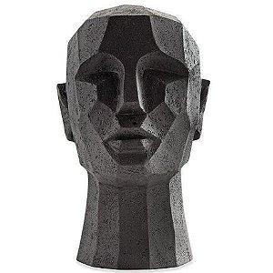 12779 - Escultura Cabeça em Poliresina