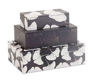 13152 - Kit Caixa Decorativa - 3 Pçs