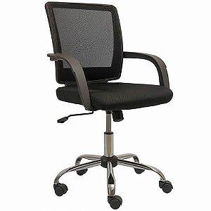 Cadeira Escritório Giratória Umix 71 - Preta