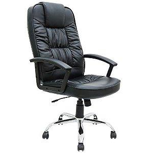 Cadeira Viseu Office em Aço Cromado