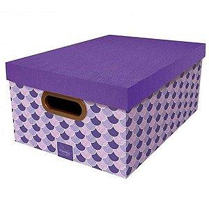 Caixa Organizadora Sereia Dello 38x29x18,5 cm