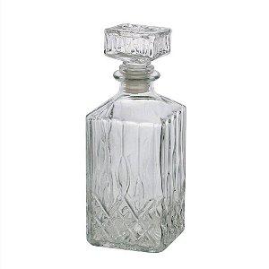 Garrafa Para Whisky De Vidro Dublin 700 Ml