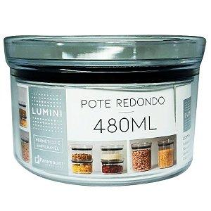 Pote Redondo Lumini 480 ml Paramount Hermetic