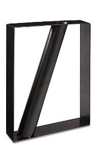 Vaso Geométrico Em Metal 12067 Mart