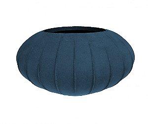 Vaso Oval Hanazaki 32 Azul Macauba