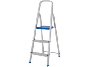 Escada de Alumínio - 3 Degraus