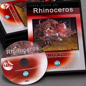 Vídeo Curso Rhinoceros