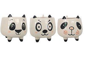 Cachepô panda