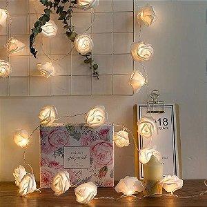 Cordão luminoso flor de luz