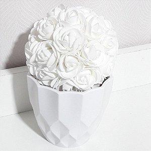 Cachepô jasmini Branco