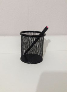 Porta lápis aramado