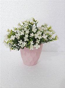 Flor Mosquitinho Artificial Branco